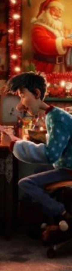 Movie still from Arthur Christmas