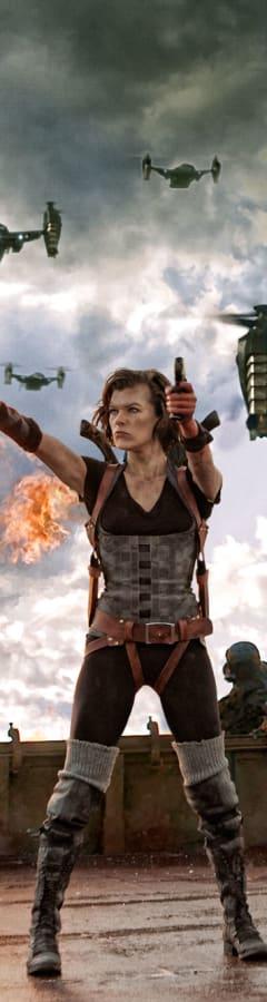 Movie still from Resident Evil: Retribution