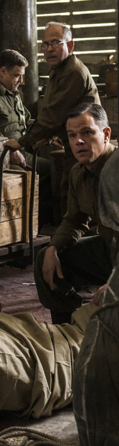 Movie still from Monuments Men