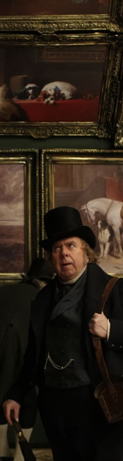 Movie still from Mr. Turner