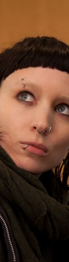 Movie still from The Girl With The Dragon Tattoo