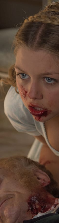 Movie still from Pride And Prejudice And Zombie