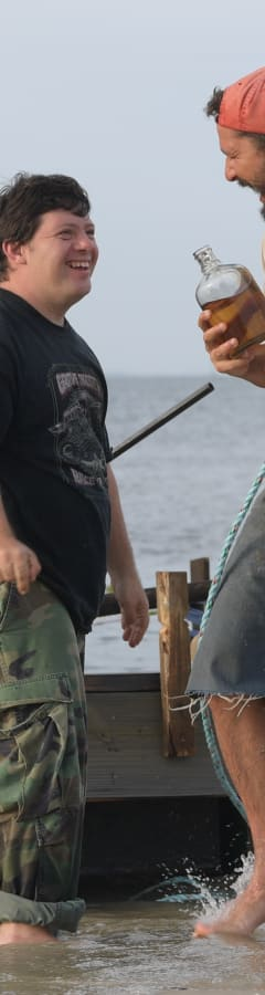 Movie still from The Peanut Butter Falcon