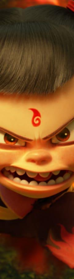Movie still from Ne Zha