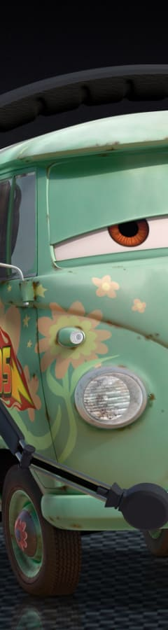 Movie still from Cars 2