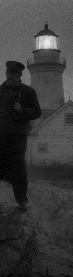 Movie still from The Lighthouse