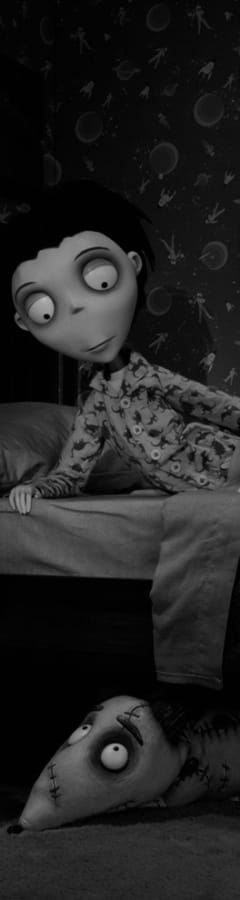 Movie still from Frankenweenie