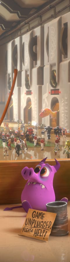 Movie still from Wreck-It Ralph