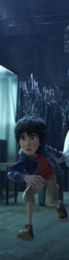 Movie still from Big Hero 6