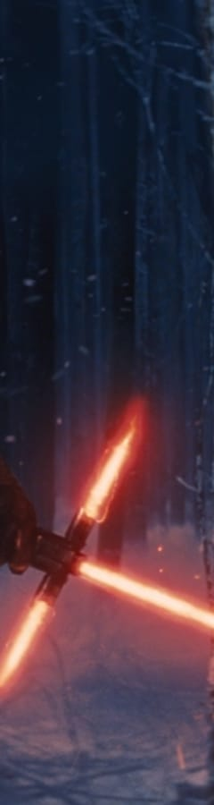 Movie still from Star Wars: The Force Awakens
