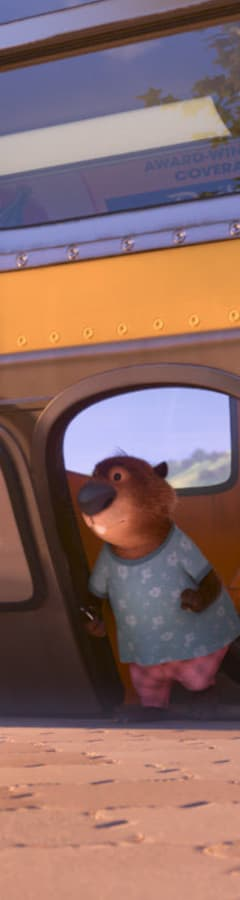 Movie still from Zootopia
