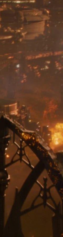 Movie still from Jupiter Ascending