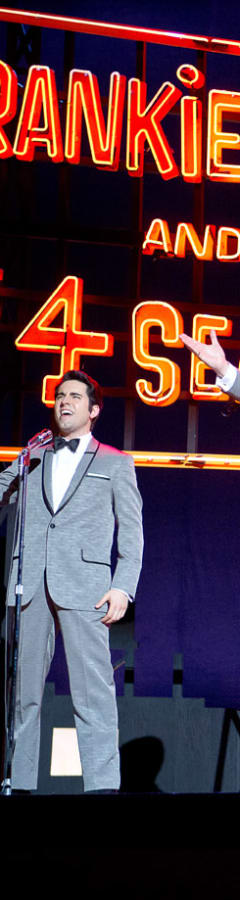Movie still from Jersey Boys