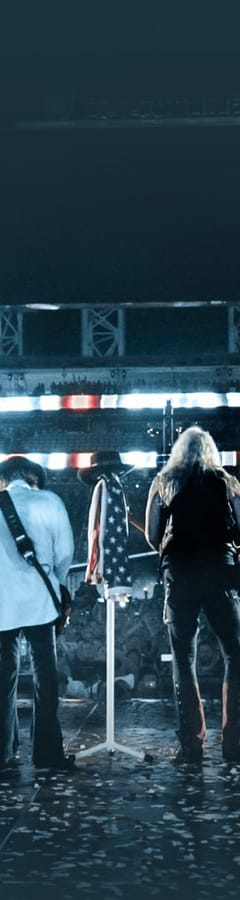 Movie still from Lynyrd Skynyrd: Last Of The Street Survivors Farewell Tour