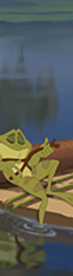 Movie still from The Princess and the Frog