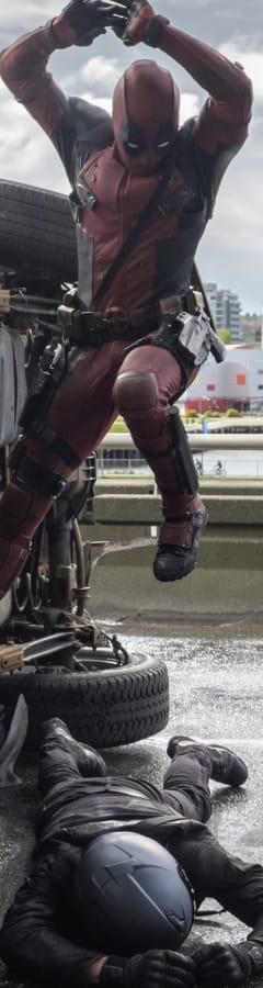 Movie still from Deadpool