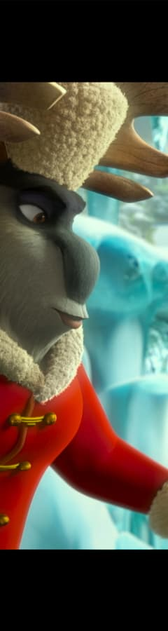 Movie still from Arctic Dogs