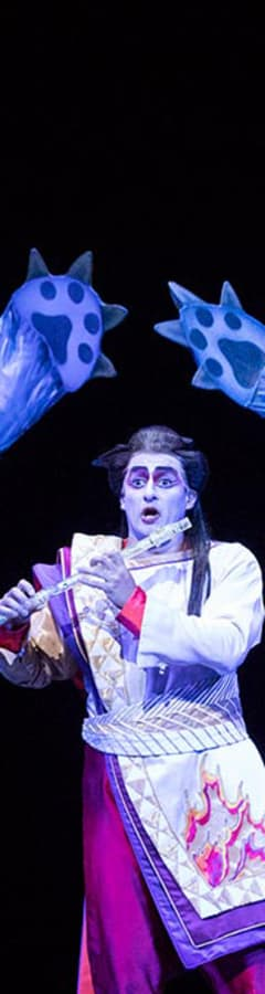 Movie still from The Metropolitan Opera: The Magic Flute Holiday Encore