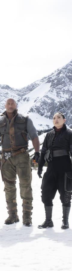 Movie still from Jumanji: The Next Level