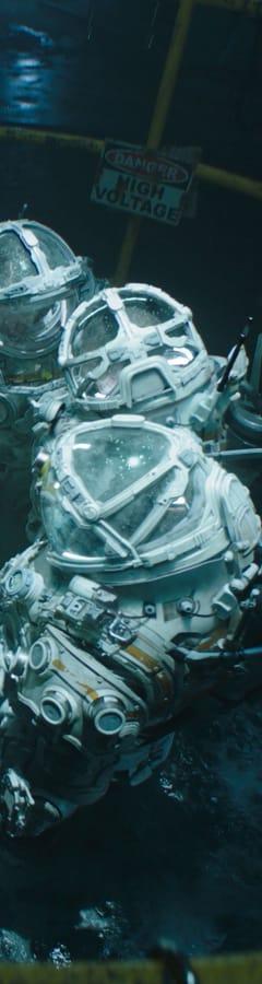 Movie still from Underwater