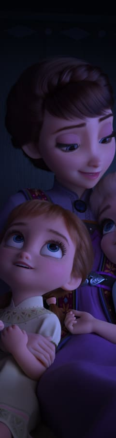 Movie still from Frozen 2 Sing-Along