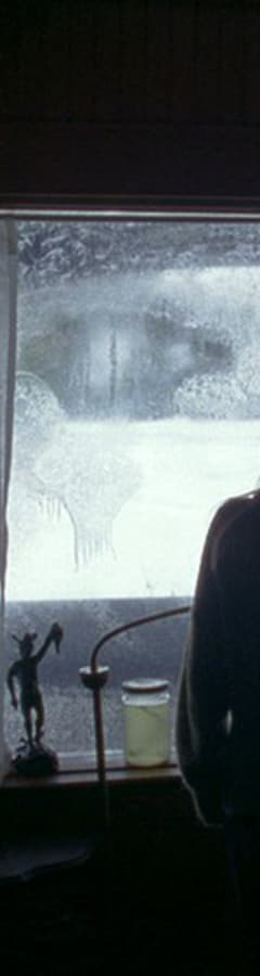 Movie still from The Lodge