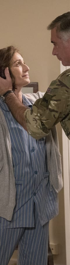 Movie still from Military Wives