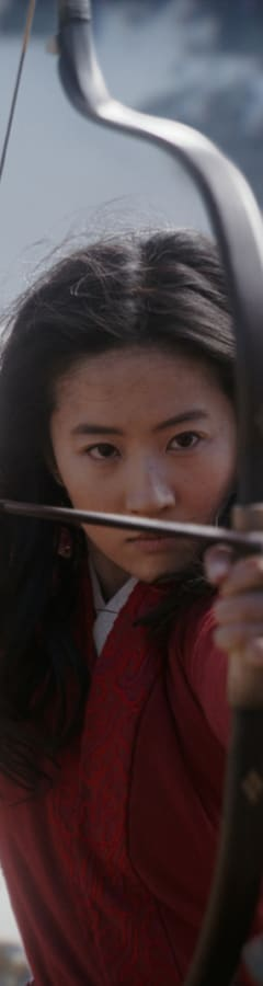Movie still from Mulan