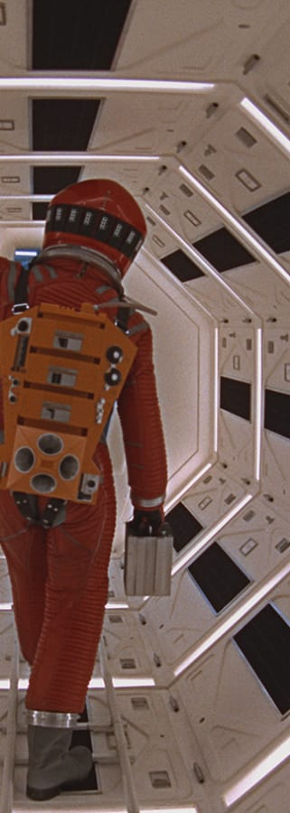 Movie still from 2001: A Space Odyssey