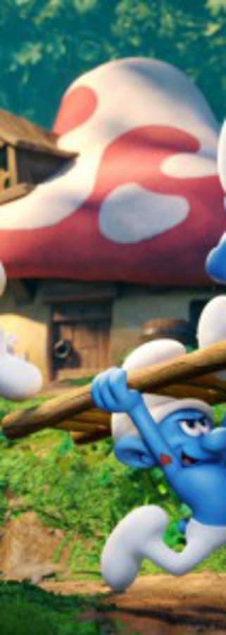 Movie still from Smurfs: The Lost Village