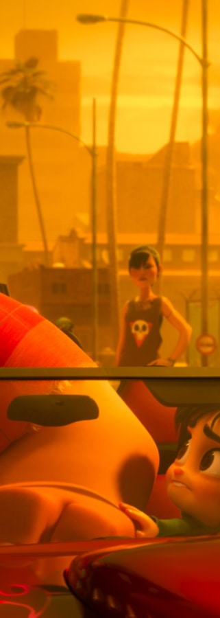 Movie still from Ralph Breaks The Internet