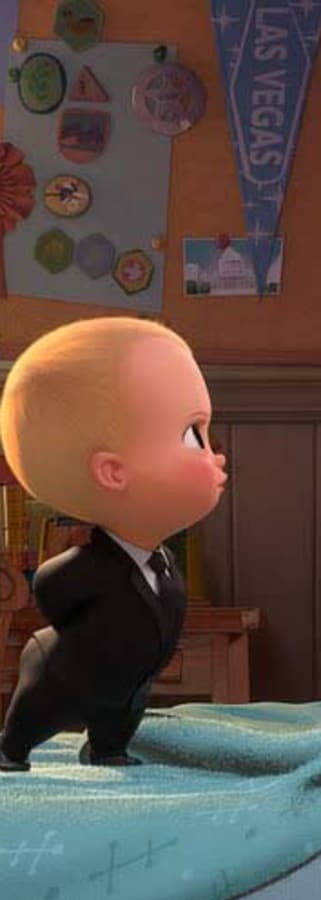 Movie still from The Boss Baby