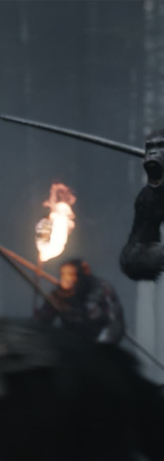Movie still from War For The Planet Of The Apes