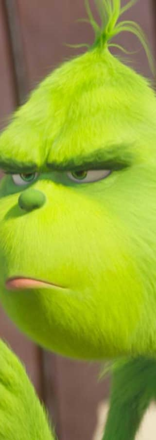Movie still from Dr. Seuss' The Grinch