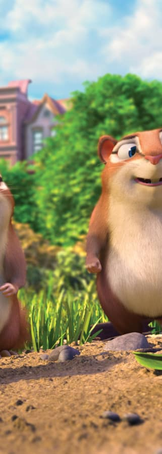 Movie still from Nut Job 2: Nutty By Nature