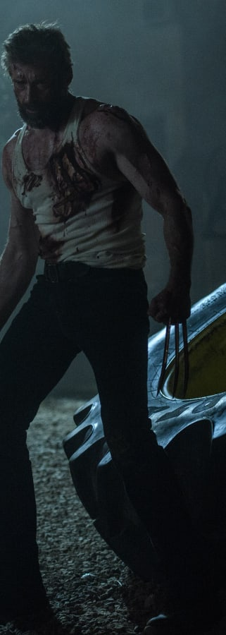 Movie still from Logan
