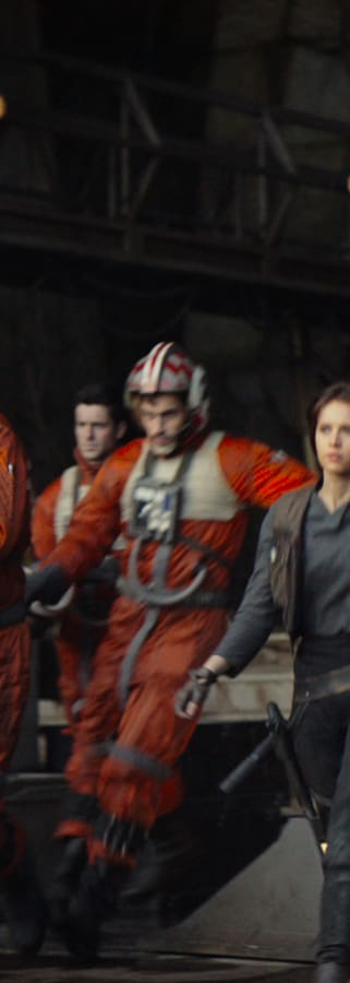 Movie still from Rogue One: A Star Wars Story