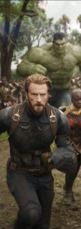 Movie still from Avengers: Infinity War