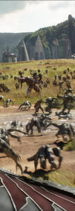 Movie still from Avengers: Infinity War
