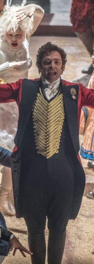 Movie still from The Greatest Showman