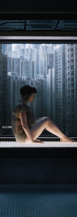 Movie still from Ghost In The Shell
