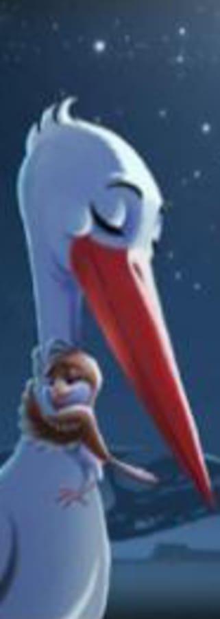 Movie still from Storks