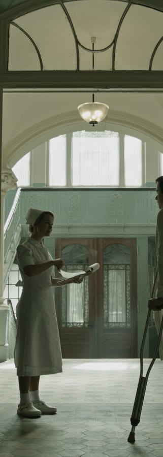 Movie still from A Cure For Wellness