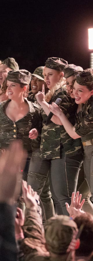 Movie still from Pitch Perfect 3