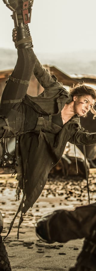 Movie still from Resident Evil: The Final Chapter