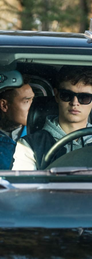 Movie still from Baby Driver