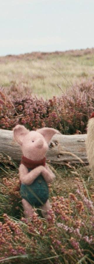 Movie still from Disney's Christopher Robin