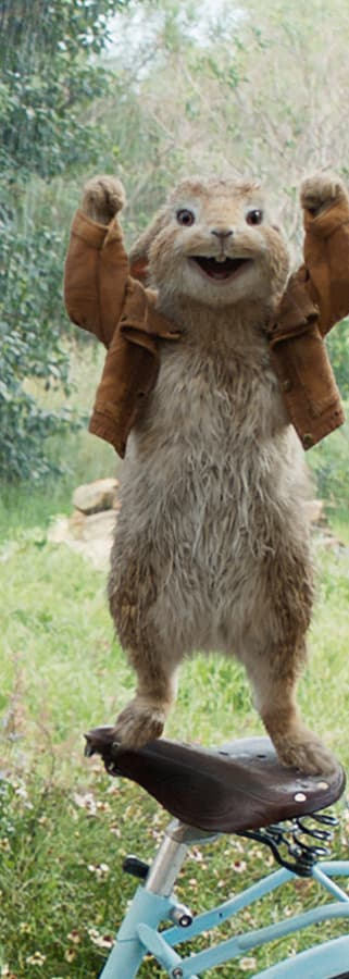 Movie still from Peter Rabbit
