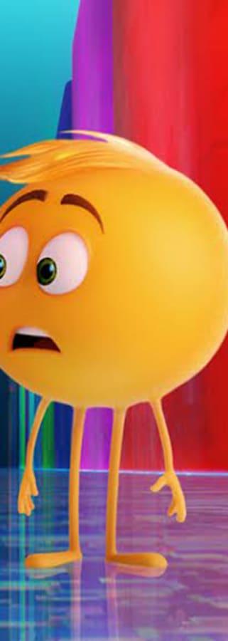 Movie still from The Emoji Movie