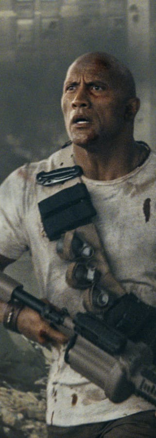 Movie still from Rampage